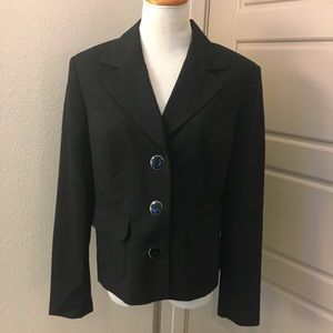 George - Classic Black Blazer Single Breasted